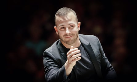 Frustratingly uneven … Yannick Nézet-Séguin, pictured here, has teamed up with Rolando Villazón to perform Mozart live in Baden-Baden.