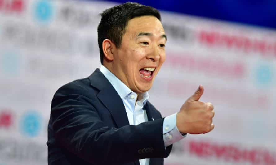Andrew Yang is tipped for a spot in a prospective Biden cabinet.