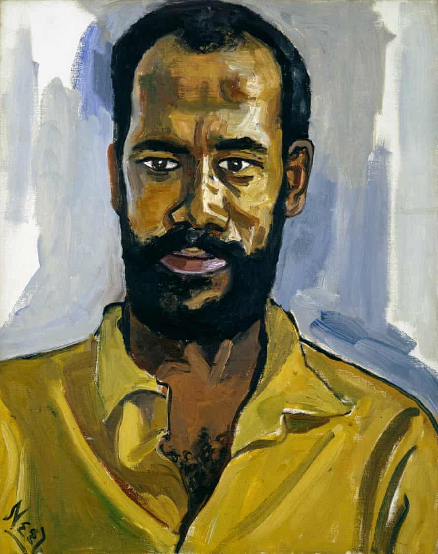 Abdul Rahman, 1964 by Alice Neel