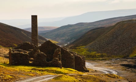 'Satanic mines and heavenly pastures': the remains of the Old Gang lead mine above Swaledale.