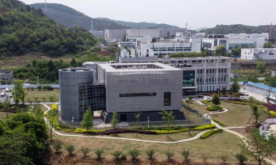 The P4 laboratory at the Wuhan Institute of Virology in Wuhan in China's central Hubei province. The facility is among a handful of labs around the world cleared to handle high risk pathogens.