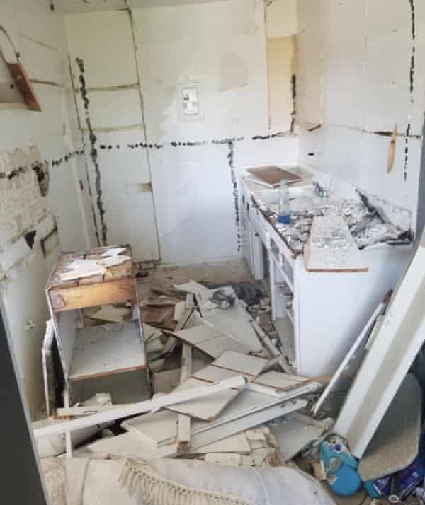 Christopher Borunda's apartment in LA, July 2020.