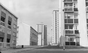 Maisonettes and flats in Muirhouse, Motherwell