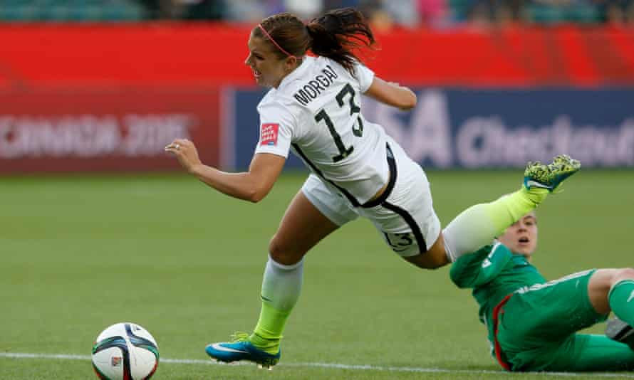 Alex Morgan could be in line to start for USA.