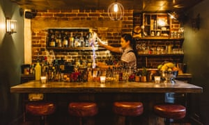 Curious Mr Hanbury cocktail bar