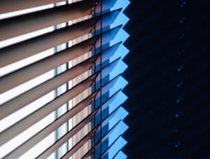 Lines of lightearly morning patterns of light Photograph: