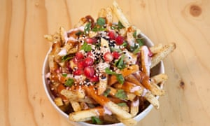 'The prettiest bowl of chips in Britain': baharat fries.