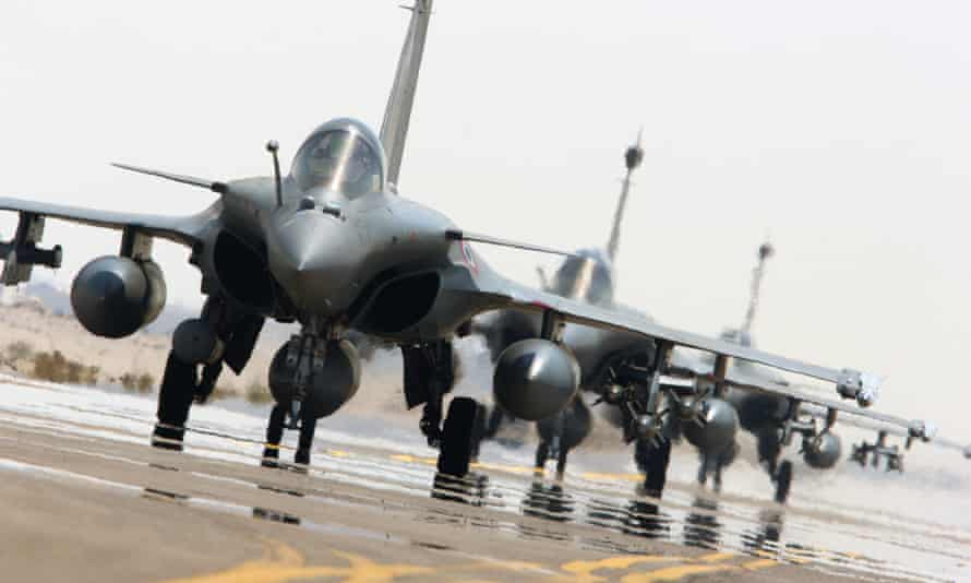 French planes. France has asked Britain to join it in the airstrikes on Syria.