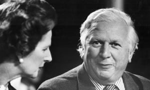 Jim Prior and Margaret Thatcher at the Conservative party conference in 1981.