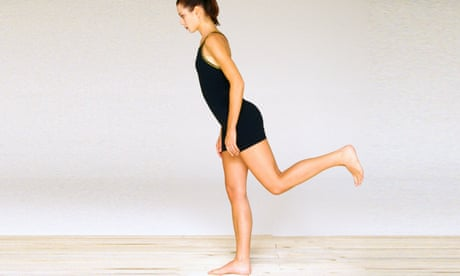 How to do 'the flamingo' – the secret to strengthening your core