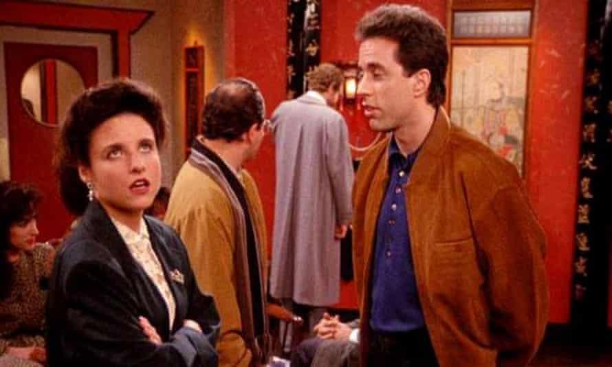 Julia Louis-Dreyfus and Jerry Seinfeld