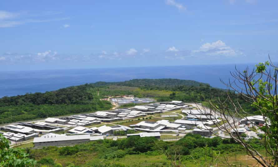 The detention centre on Christmas Island: the island, in the Indian Ocean, is more than 1,500km from mainland Australia.