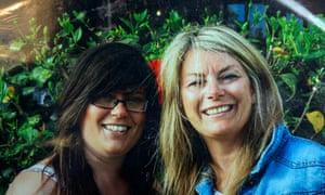 Tara Newbold, left, with her mother Julie Dury