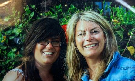 Tara Newbold and her mother Julie Dury.