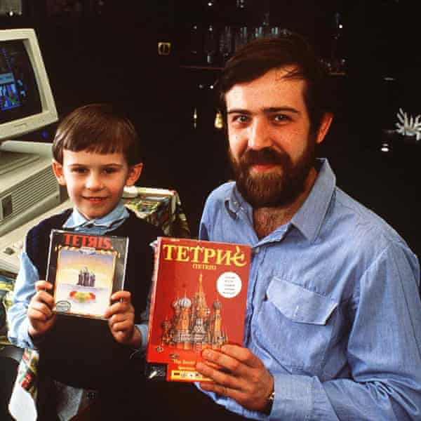Alexey Pajitnov, the inventor of Tetris