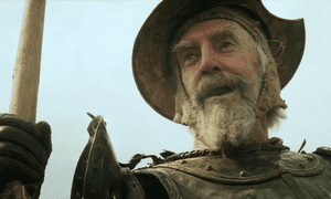 Jonathan Pryce in The Man Who Killed Don Quixote.