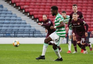 Edouard scores from the penalty spot.