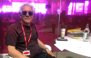Trevor Horn in the Guardian offices