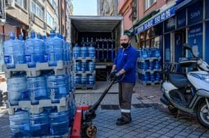 Istanbul, Turkey: Bülent Çoban, water distribution company employee