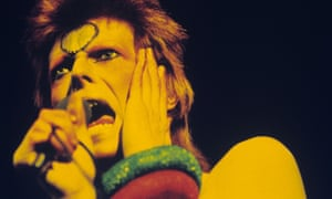 David Bowie performs at Earls Court Arena