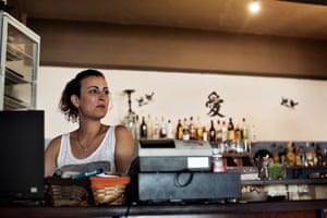 """I would wish for the world to know that Lesbos is now a clean, safe and beautiful place to visit – the way it has always been,"" says Toula Koutalleli who, with her husband, runs a café in Skala Sykamineas. In 2015, Toula used the coffee shop as a store for medicine and as a makeshift medical centre, as well as a place for refugees to rest and change their clothes."
