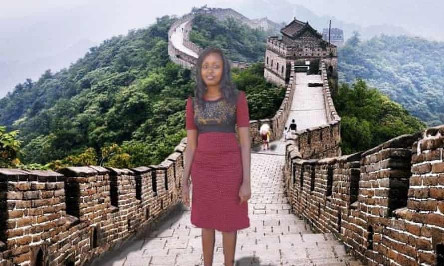 That time I was at the Great Wall of China...