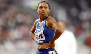 Allyson Felix continued her brilliant career on the track this year