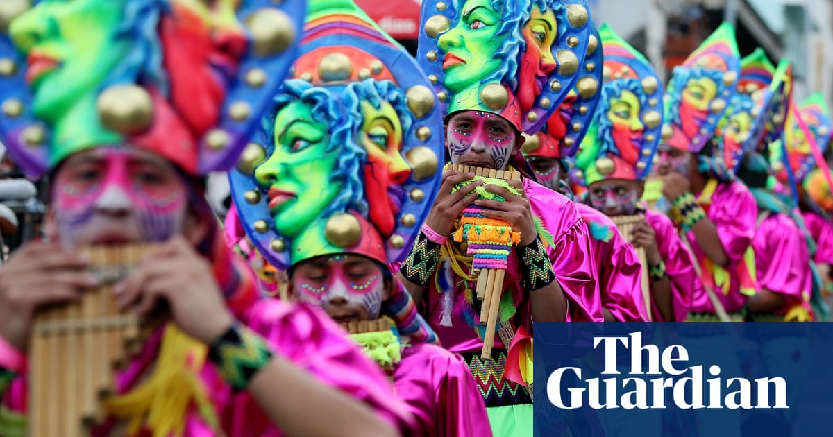 Colombia's full-colour Blacks and Whites' carnival – in pictures