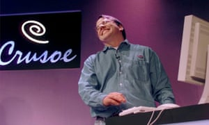 Linus Torvalds, the Finnish founder of the Linux operating system, in 2000.
