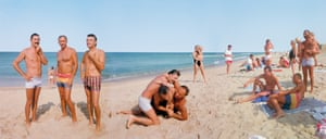 Longnook Beach, Truro, Massachusetts, 1985, by Joel Meyerowitz.