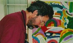 Jack Shirreff at 107 Workshop, near Melksham, Wiltshire.