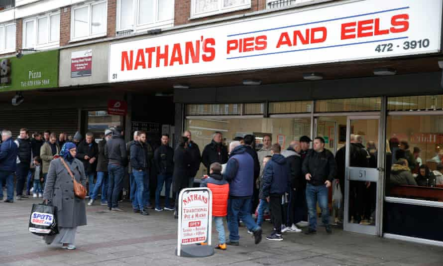 Nathan's Pie and Eels is just one of the pre-match institutions West Ham will be leaving behind at Upton Park.