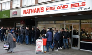 Nathan's Pie & Eels is among the few visible survivals in a district whose demographics and culture have changed over the years.