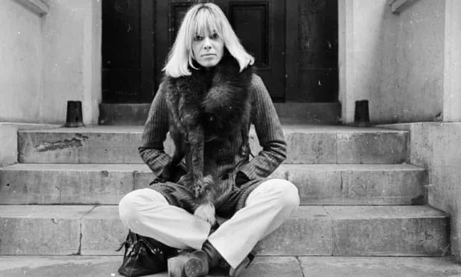 Anita Pallenberg, photographed in 1968
