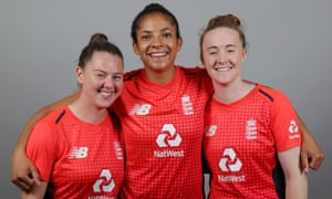 Linsey Smith, Sophia Dunkley and Kirstie Gordon.