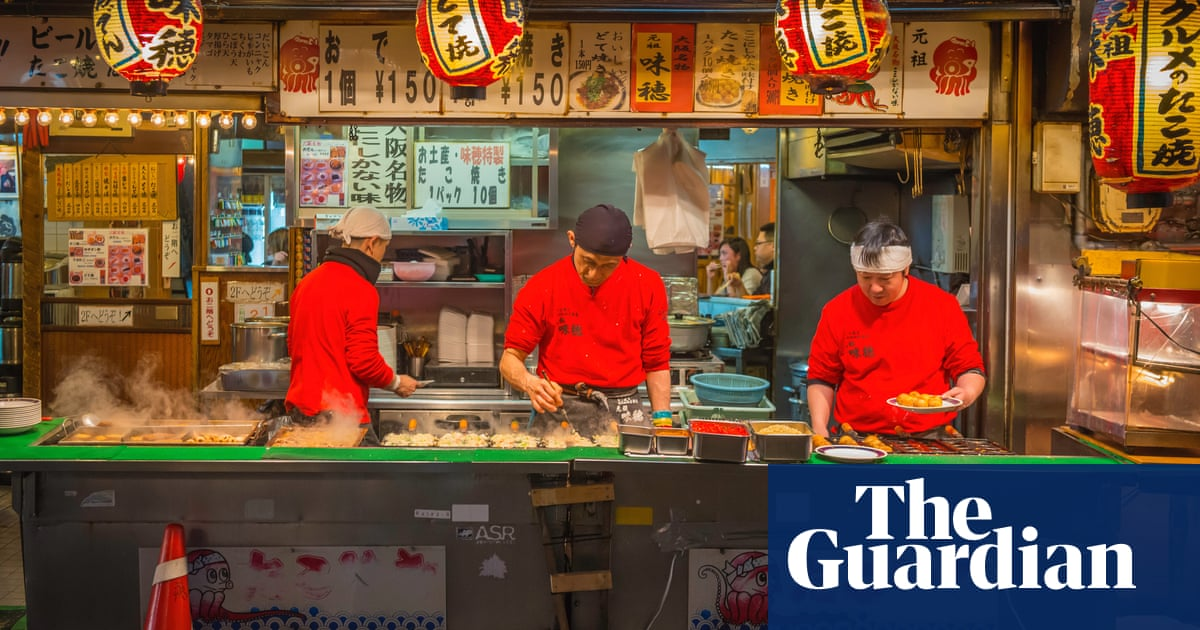 A Foodie Tour Of Osaka Japan Travel The Guardian