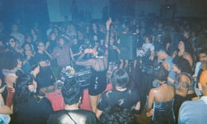 'As irreverent as they are cutting edge' ... Club Chai's set at a Boiler Room party in Oakland, California, July 2017.