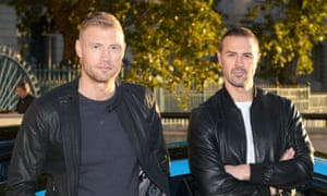 Andrew 'Freddie' Flintoff and Paddy McGuinness