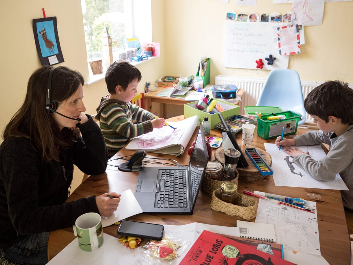 Women Put Careers On Hold To Home School During Uk Covid 19 Lockdown Education The Guardian