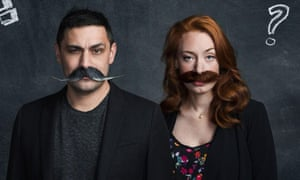 Doctors Adam Rutherford and Hannah Fry.