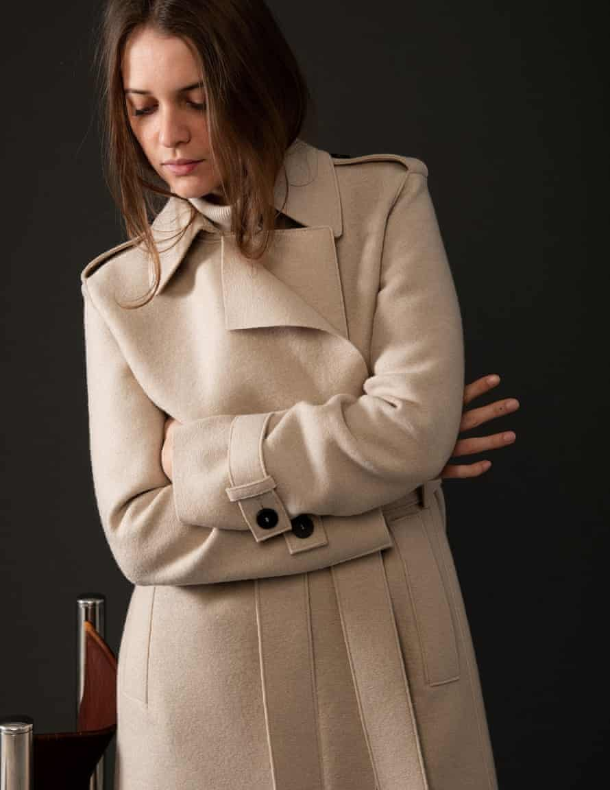 Pressed wool, £680, Harris Wharf London at matchesfashion.com