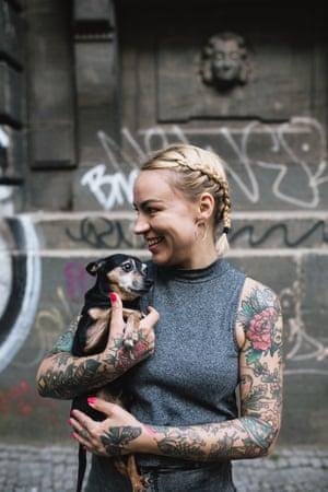 Amelie Pedersen, Berlin, Tattoo Street Style by Alice Snape