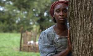 Cynthia Erivo as Harriet Tubman, the role it was once suggested Julia Roberts could play.