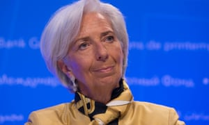 Christine Lagarde head of the IMF