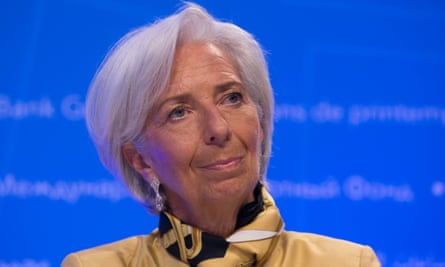 IMF head Christine Lagarde, who says diversity should boost productivity.