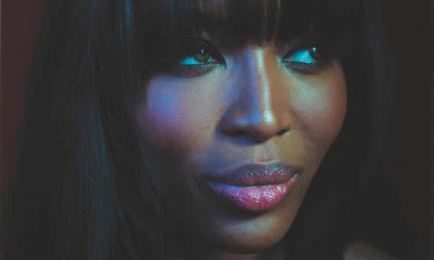 Naomi Campbell is among the famous people photographed by Simon Frederick for a BBC documentary lasy year.