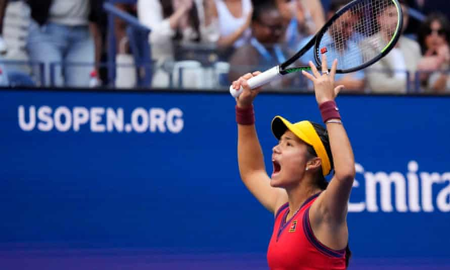 Emma Raducanu has shocked the world of tennis with her ascent to US Open champion, only her second grand slam tournament.