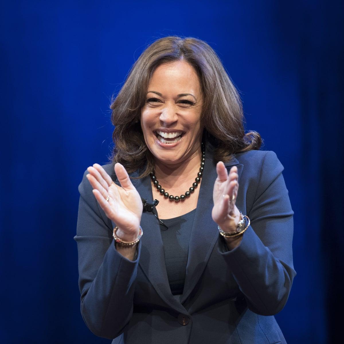 Kamala Harris Invites Speculation Over 2020 White House Bid Democrats The Guardian