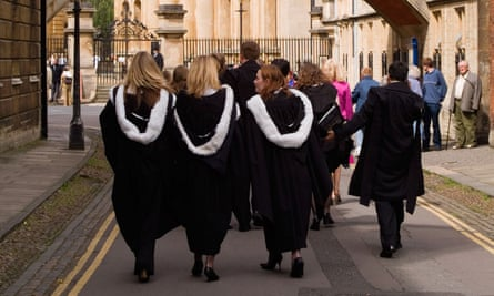 Female students at Oxford