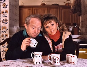Paul Daniels and Debbie McGee at their home in Buckinghamshire, 1989